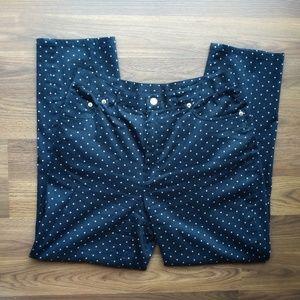 LRL Ralph Lauren Polka Dot Pants